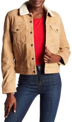 Levi's The Suede Faux Shearling Trucker Jacket