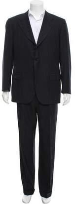 Kiton Wool Three-Button Suit