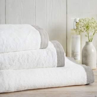 The White Company Colour Border Towels