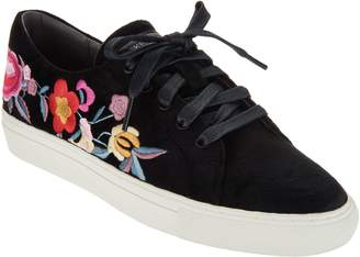 Skechers Embroidered Lace-Up Sneakers