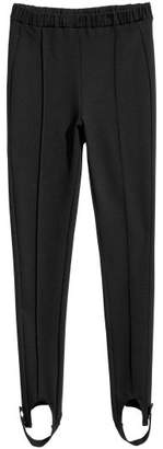 H&M Stirrup Leggings - Black