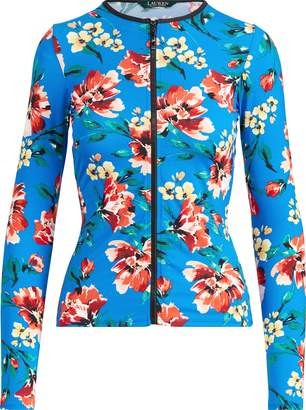 Ralph Lauren Floral Rash Guard