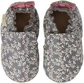 Robeez R) Berry Beautiful Moccasin Crib Shoe