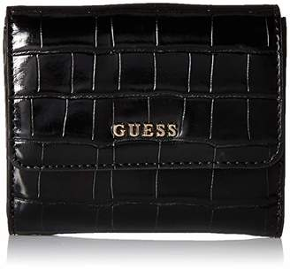 GUESS Kamryn Croc Card and Coin Purse