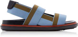 Marni Fussbett Color-Block Slingback Sandals