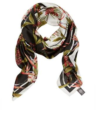 Vince Camuto Birds of Paradise-print Scarf