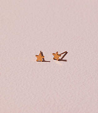 Lou & Grey Seoul Star Stud Earrings
