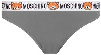 Moschino Teddy-band Microfiber Briefs