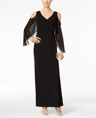 Connected Cape A-Line Gown $79 thestylecure.com