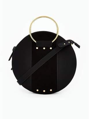 Very Metal Handle Detail Round Crossbody Bag