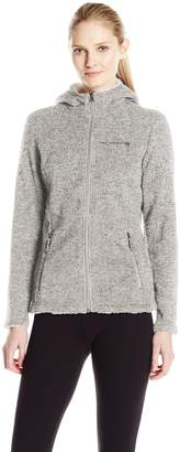 Free Country Women's Sweater Fleece with Sherpa