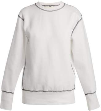 Eytys Lennox Cotton Blend Sweatshirt - Womens - White