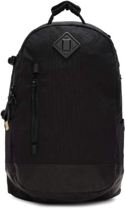 Black Cordura and Leather 20L Backpack