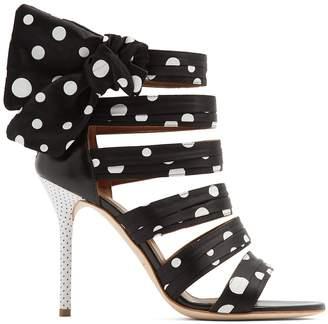 X Emanuel Ungaro Joan polka-dot sandals