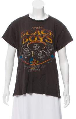 MadeWorn Distressed Beach Boys T-Shirt