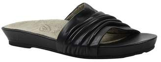 J. Renee Darcia Leather Slide Sandal - Multiple Widths Available