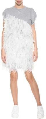 Moncler Gamme Rouge Feathers Dress