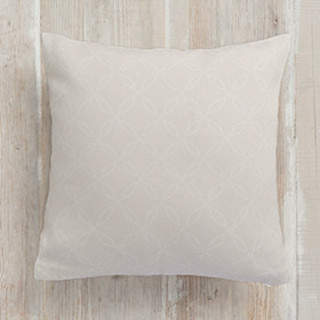 White Lace Self-Launch Square Pillows