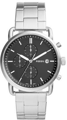 Fossil Townsman Chronograph Stainless Steel Strap Watch