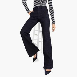 J.Crew Tall wide-leg trouser jean in classic rinse