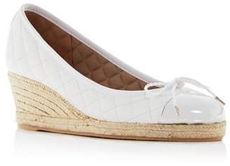 Paul Mayer Women's Just Quilted Espadrille Wedge Pumps