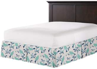 Loom Decor Tailored Bedskirt Birds of a Feather - Pool