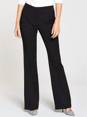 fe2df56cb127c Smart Black Bootcut Trousers - ShopStyle UK