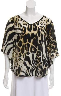 Camilla x Intermix Silk Printed Blouse