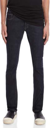 Rick Owens Unwashed Blue Detroit Cut Skinny Jeans
