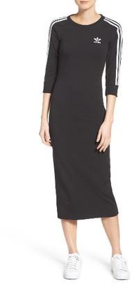 Women's Adidas Originals 3-Stripes Dress $60 thestylecure.com