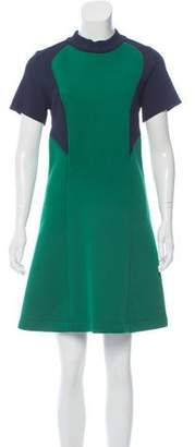 Cédric Charlier Colorblock Mini Dress w/ Tags