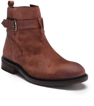 Frank Wright Selby Oil Suede Buckle Boot