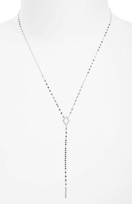 Women's Lana Jewelry Flawless Diamond Kite Y-Necklace $695 thestylecure.com