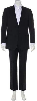 Armani Collezioni Pinstriped Two-Piece Suit