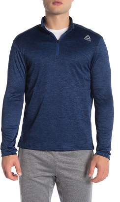 Reebok 1/4 Zip Double Knit Pullover
