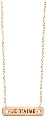 VANRYCKE Bonnie and Clyde necklace