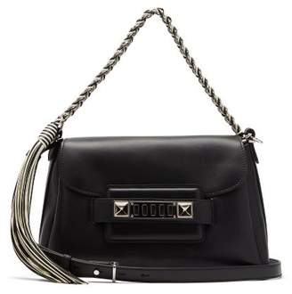 Proenza Schouler Ps11 Leather Shoulder Bag - Womens - Black