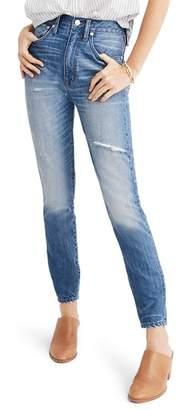 Madewell Rigid High Waist Skinny Jeans