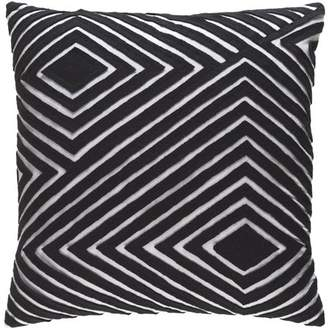 "Art of Knot Bourlet 22"" x 22"" Pillow (with Down Fill)"