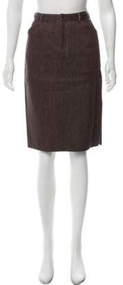 Ralph Lauren Linen Pencil Skirt