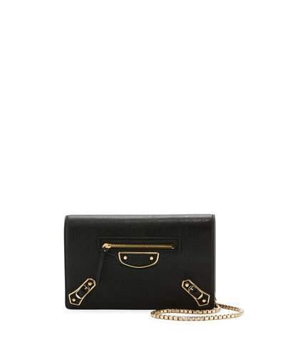 Balenciaga Balenciaga Metallic Edge Wallet-on-Chain