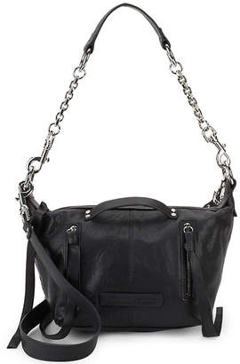 McQ Textured Leather Shoulder Bag