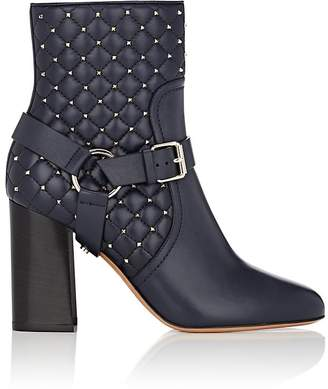Valentino Women's Rockstud Spike Leather Ankle Boots