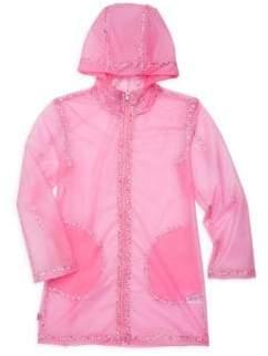 Ralph Lauren Little Girl's& Girl's Transparent Raincoat