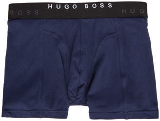 BOSS Two-Pack Blue and Navy Boxer Briefs