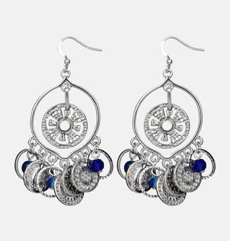 Avenue Medallion Coin Shakey Earrings