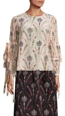 Creatures of the Wind Tav Floral Printed Blouse