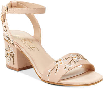 Nanette by Nanette Lepore Ruby Two-Piece Block-Heel Sandals, Only at Macy's $79 thestylecure.com