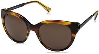 Halston H Women's HH 612 Classic Cat Eye Fashion Designer UV Protection Sunglasses