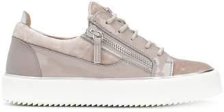 Giuseppe Zanotti Design Nicki velvet sneakers